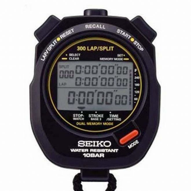 Seiko S141 Stopwatch (300 Lap Memory) - Saturn Stopwatches